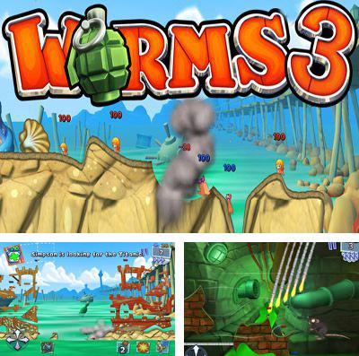 In addition to the game Crystal mine: Jones in action for iPhone, iPad or iPod, you can also download Worms 3 for free.