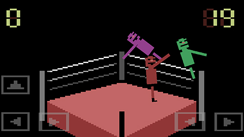 Screenshots do jogo Wrassling: Wacky wrestling para iPhone, iPad ou iPod.