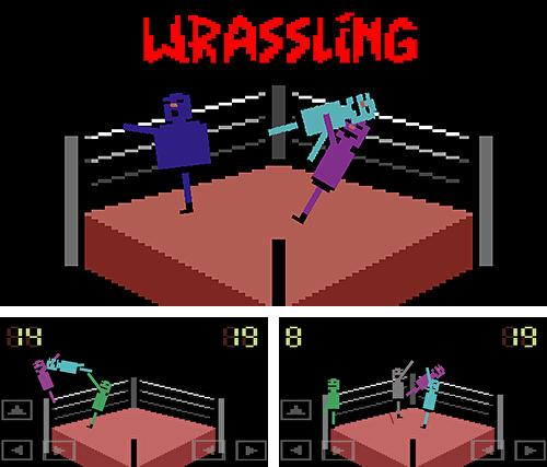 Download Wrassling: Wacky wrestling iPhone free game.
