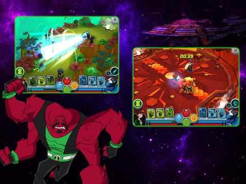 Скачать игру Wrath of Psychobos – Ben 10 Omniverse для iPad.