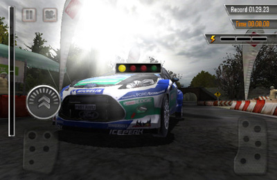 Screenshots vom Spiel WRC: The Game für iPhone, iPad oder iPod.