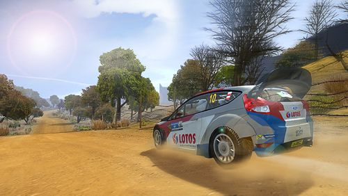 Écrans du jeu WRC: The official game pour iPhone, iPad ou iPod.