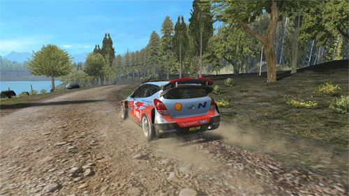 Screenshots of the WRC: The official game game for iPhone, iPad or iPod.