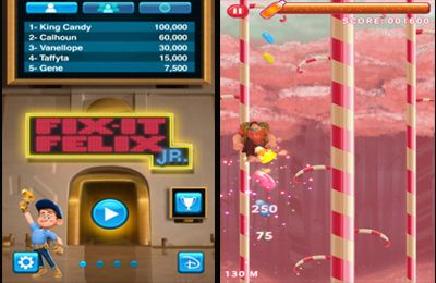 Download Wreck it Ralph iPhone free game.