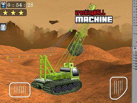 下载免费 iPhone、iPad 和 iPod 版Wrecking ball machine。