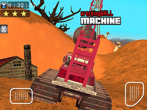Écrans du jeu Wrecking ball machine pour iPhone, iPad ou iPod.