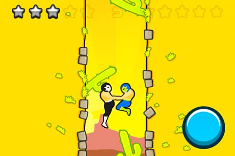 Screenshots of the Wrestle jump game for iPhone, iPad or iPod.