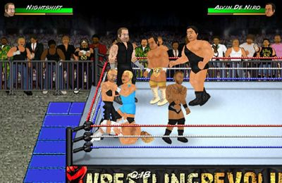 Descarga gratuita de Wrestling Revolution para iPhone, iPad y iPod.