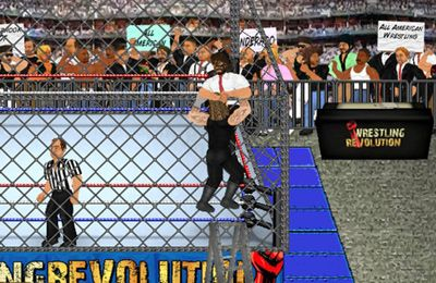 Capturas de pantalla del juego Wrestling Revolution para iPhone, iPad o iPod.