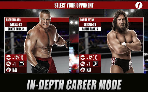 Free WWE 2K download for iPhone, iPad and iPod.