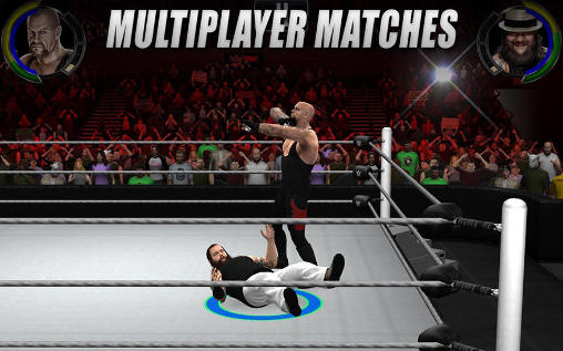 Screenshots of the WWE 2K game for iPhone, iPad or iPod.