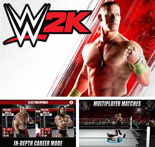 In addition to the game Goal finger for iPhone, iPad or iPod, you can also download WWE 2K for free.