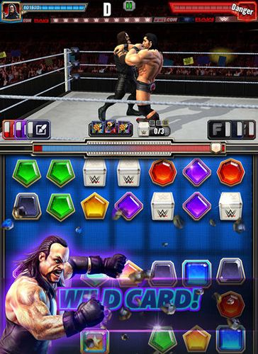 Capturas de pantalla del juego WWE: Champions para iPhone, iPad o iPod.