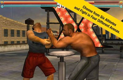 Free XARM Extreme Arm Wrestling download for iPhone, iPad and iPod.