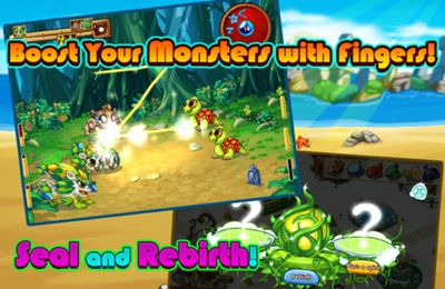 Download xMonsters iPhone free game.