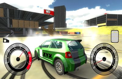 Screenshots of the Xtreme Rally Championship game for iPhone, iPad or iPod.