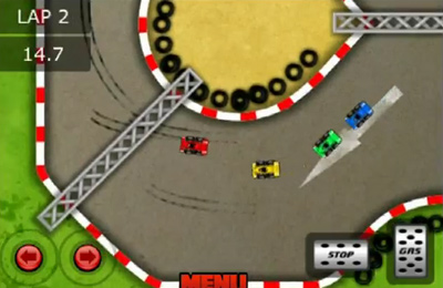 Screenshots vom Spiel Xtreme Super Car Racing für iPhone, iPad oder iPod.