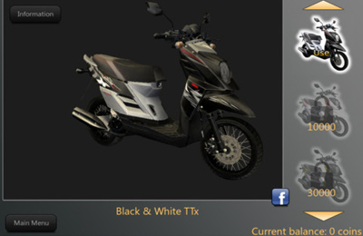 Screenshots of the Yamaha TTX Revolution game for iPhone, iPad or iPod.