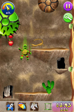 Screenshots do jogo Yogo The Turtle para iPhone, iPad ou iPod.