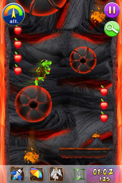 Écrans du jeu Yogo The Turtle pour iPhone, iPad ou iPod.