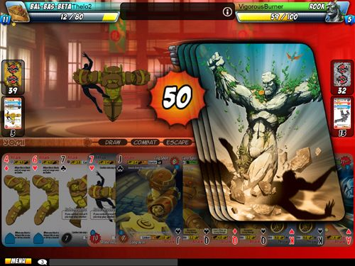 Screenshots of the Yomi game for iPhone, iPad or iPod.