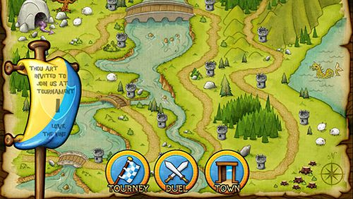 Screenshots do jogo You are a knight para iPhone, iPad ou iPod.