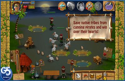 Capturas de pantalla del juego Youda Survivor para iPhone, iPad o iPod.
