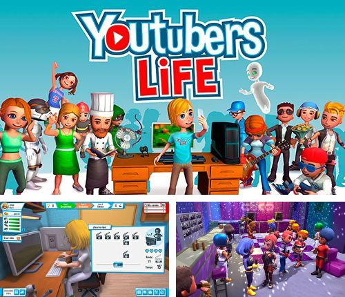 In addition to the game Zombie Run HD for iPhone, iPad or iPod, you can also download Youtubers life for free.