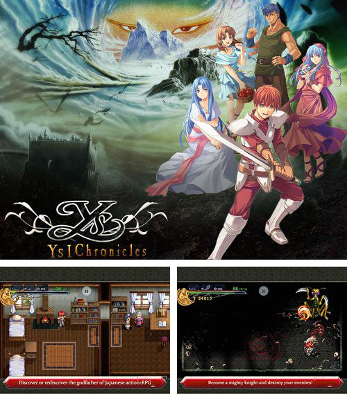 In addition to the game Max Bradshaw and the zombie invasion for iPhone, iPad or iPod, you can also download Ys chronicles 1 for free.