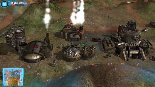 Screenshots of the Z steel soldiers game for iPhone, iPad or iPod.