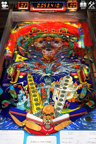 Descarga gratuita de Zaccaria pinball para iPhone, iPad y iPod.