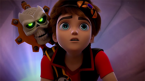 Écrans du jeu Zak Storm: Super pirate pour iPhone, iPad ou iPod.