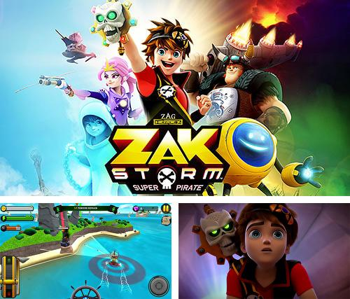 In addition to the game Zergs coming for iPhone, iPad or iPod, you can also download Zak Storm: Super pirate for free.