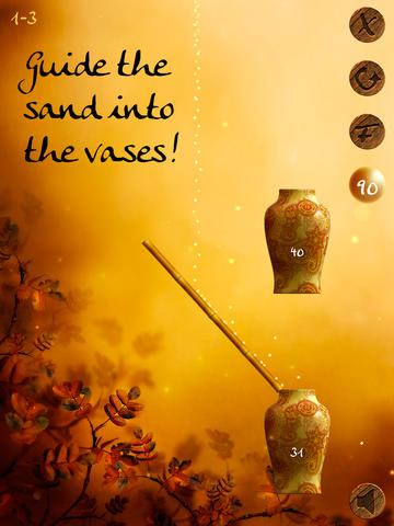 Free Zen Sand download for iPhone, iPad and iPod.