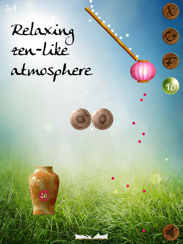 Screenshots of the Zen Sand game for iPhone, iPad or iPod.