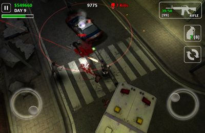 Screenshots of the Z.I.D 2 : ZOMBIES IN DARK 2 game for iPhone, iPad or iPod.