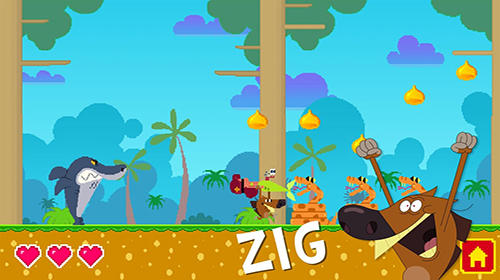 Download Zig and Sharko iPhone free game.