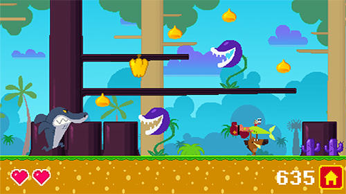 Screenshots of the Zig and Sharko game for iPhone, iPad or iPod.
