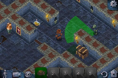 Screenshots of the Zomb raider game for iPhone, iPad or iPod.