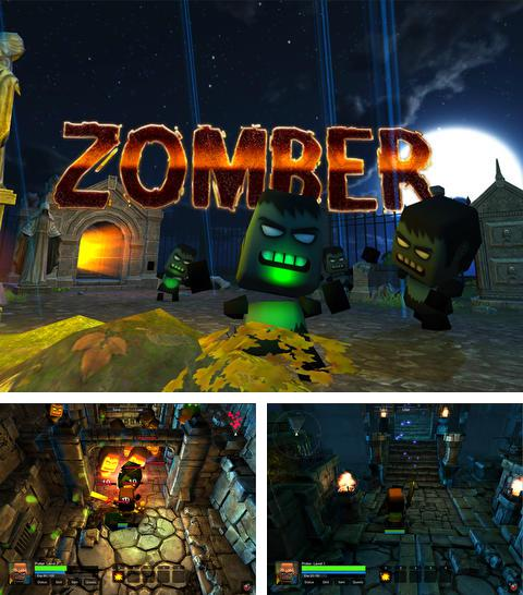 In addition to the game Chicken Zooma for iPhone, iPad or iPod, you can also download Zomber for free.