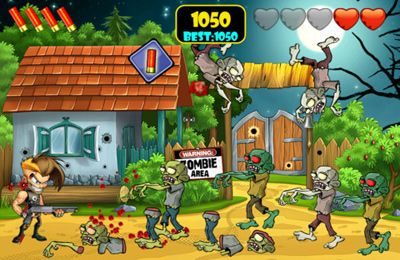 Descarga gratuita de Zombie Area! para iPhone, iPad y iPod.