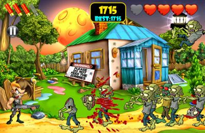 Capturas de pantalla del juego Zombie Area! para iPhone, iPad o iPod.