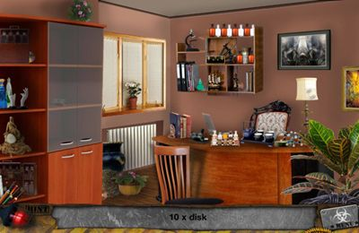 Écrans du jeu Zombie Attack – Hidden Objects pour iPhone, iPad ou iPod.