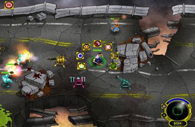Écrans du jeu Zombie Attack! Second Wave XL pour iPhone, iPad ou iPod.