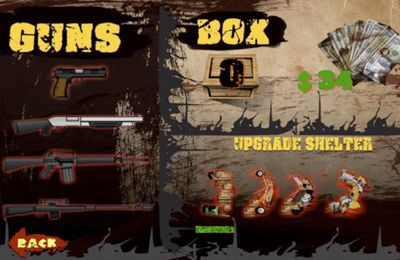 Capturas de pantalla del juego Zombie Barricade Defense para iPhone, iPad o iPod.