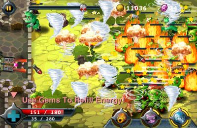 Descarga gratuita de Zombie battle para iPhone, iPad y iPod.