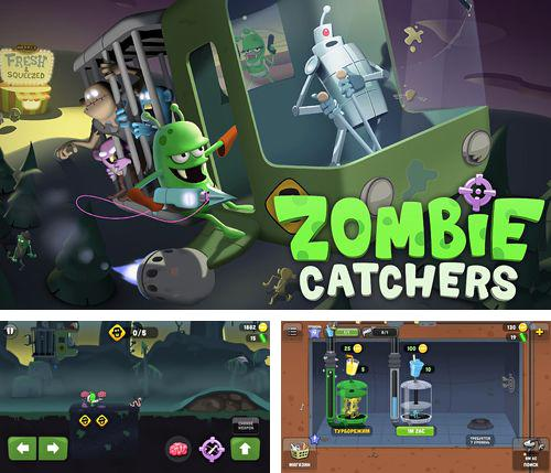 In addition to the game Run like hell! for iPhone, iPad or iPod, you can also download Zombie catchers for free.