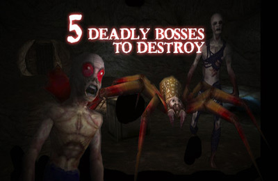 Free Zombie Caves download for iPhone, iPad and iPod.