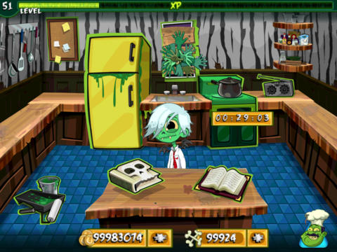 Descarga gratuita de Zombie Cookin para iPhone, iPad y iPod.