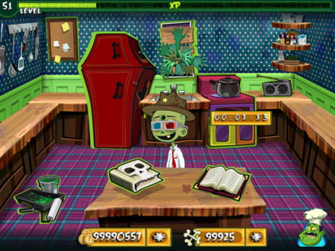 Capturas de pantalla del juego Zombie Cookin para iPhone, iPad o iPod.